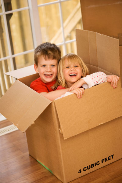 Storage in El Centro - moving with kids.