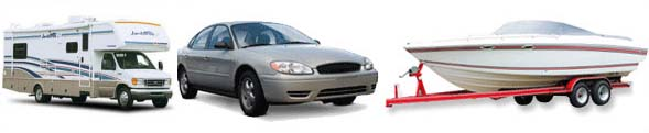 Many types of vehicles can be placed in your El Centro storage unit.
